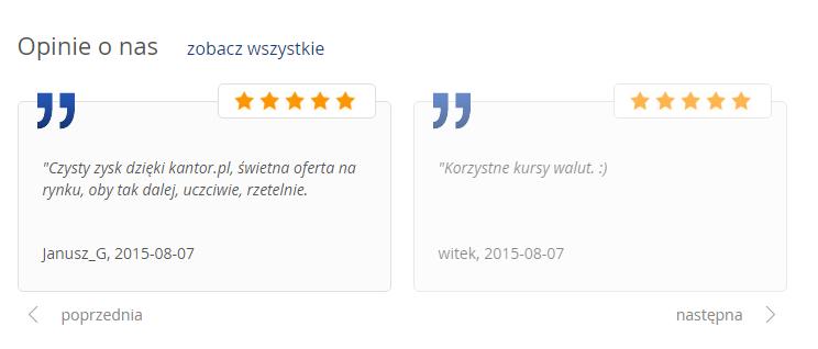 kantor.pl opinie