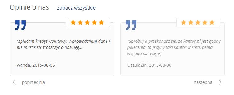 kantor.pl opinie 2